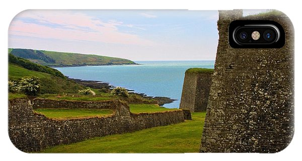 IPhone Case featuring the photograph Charles Fort Kinsale by Jeremy Hayden