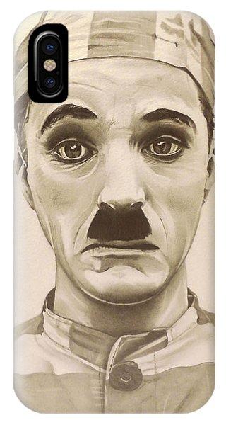 Vintage Charlie Chaplin IPhone Case