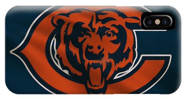 Iphone 4 iPhone Case - Chicago Bears Uniform by Joe Hamilton