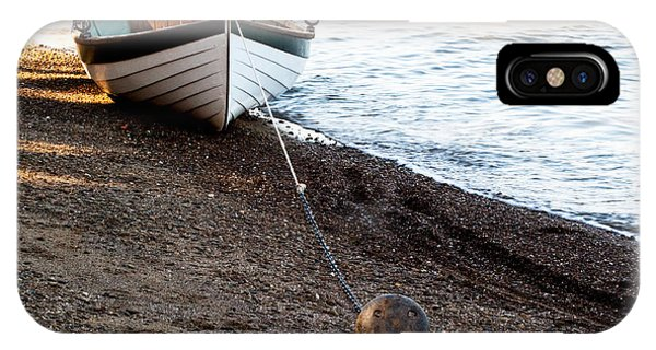 China Beach Rowboat IPhone Case