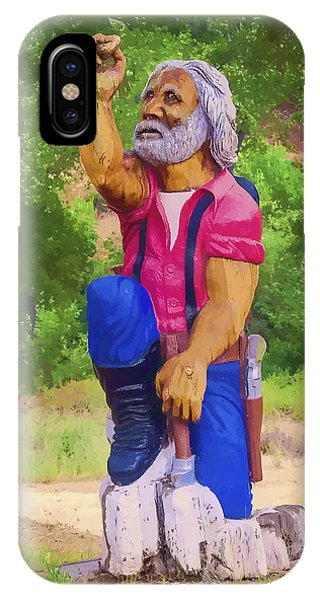 Coarsegold Miner IPhone Case