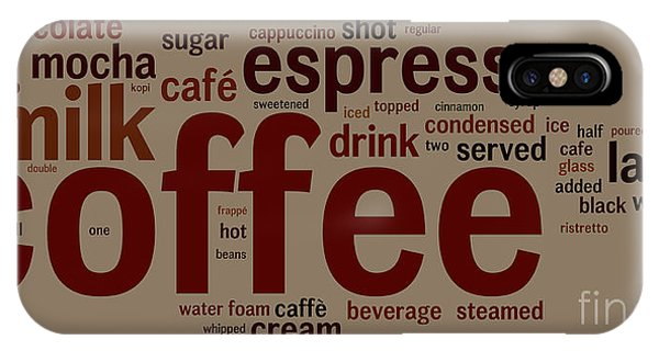 Coffee Phone Case by Shawn Hempel