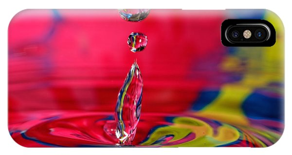 Colorful Water Drop IPhone Case