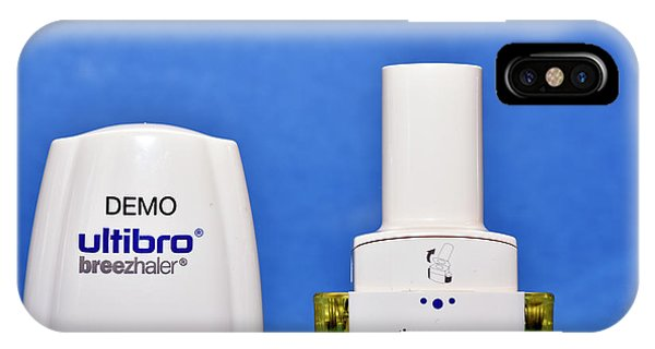 Chronic iPhone Case - Copd Inhaler by Dr P. Marazzi/science Photo Library