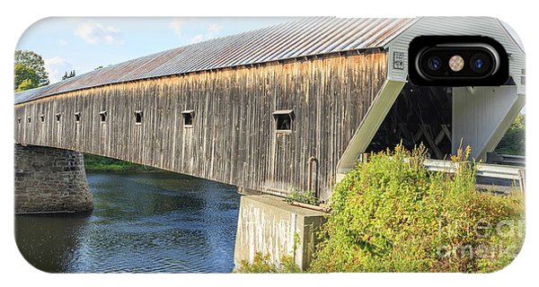Cornish-windsor Covered Bridge IIi IPhone Case