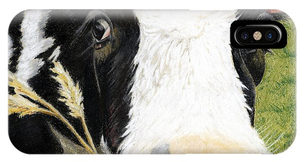Cow No. 0652 IPhone Case