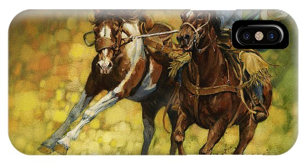 Missouri iPhone Case - Rodeo Pickup by Don  Langeneckert