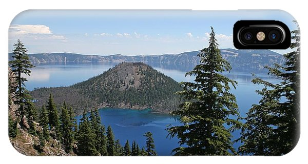 Crater Lake Oregon IPhone Case
