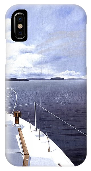 Cruising North IPhone Case