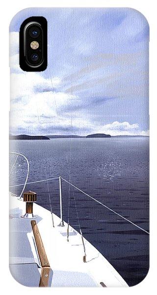 Cruising North IPhone Case