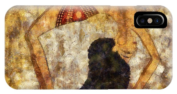 dancer of ancient Egypt IPhone Case