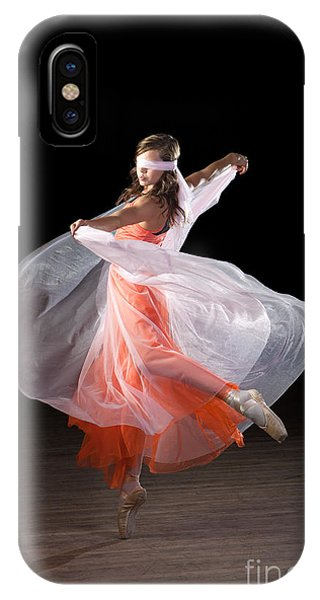 Dancing With Closed Eyes IPhone Case