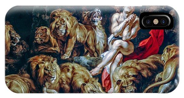 iPhone Case - Daniel In The Lions Den by Viktor Birkus