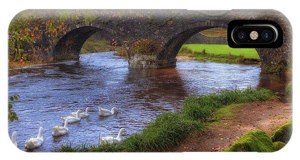 Upland iPhone Case - Dartmoor - Two Bridges by Joana Kruse