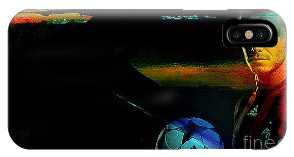 Soccer iPhone Case - David Beckham by Marvin Blaine