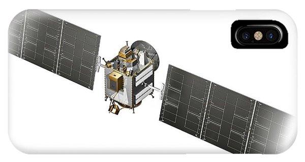 Spaceflight iPhone Case - Dawn Spacecraft by Carlos Clarivan