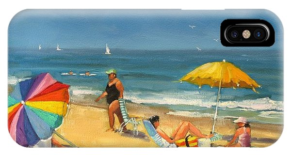 Day At The Beach IPhone Case