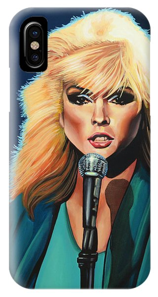 Deborah Harry Or Blondie Painting IPhone Case