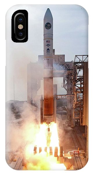 Delta Iv Rocket Launch IPhone Case