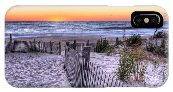 Dewey Beach Sunrise IPhone Case