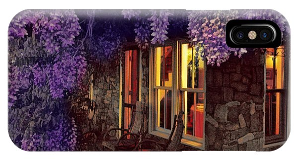 Beneath The Wisteria IPhone Case