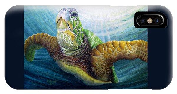Scuba Diving iPhone Case - Diving The Depths by David Richardson