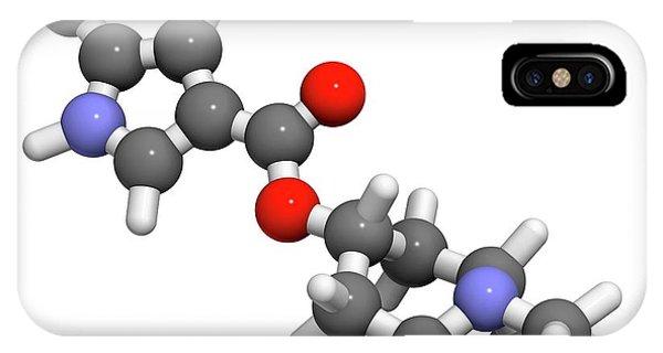 Dolasetron Nausea Drug Molecule Phone Case by Molekuul