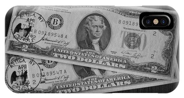 2 Dollars IPhone Case