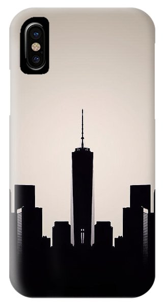 New York City iPhone Case - Downtown Deco by Natasha Marco