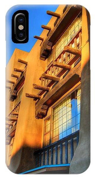 Downtown Santa Fe IPhone Case