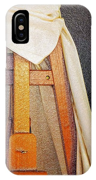Draped Easel IPhone Case
