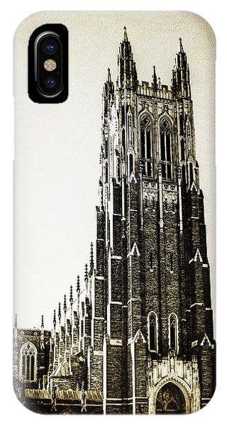 Chapel iPhone Case - Duke Chapel by Emily Kay