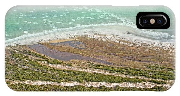 Tidal Marsh iPhone Case - East Coast Aerial Near Jekyll Island by Betsy Knapp