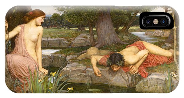 Echo And Narcissus IPhone Case