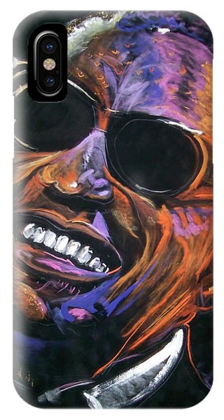 electric Ray Charles IPhone Case