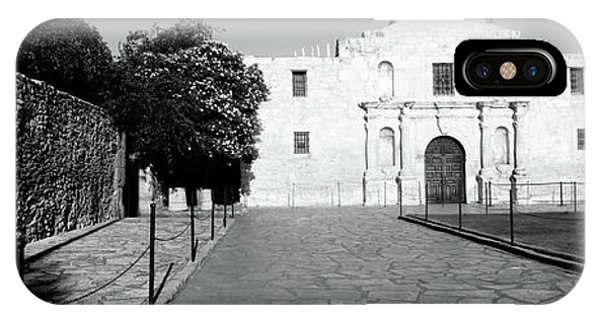 The Alamo iPhone Case - Facade Of A Building, The Alamo, San by Panoramic Images