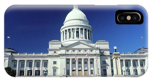 Capitol Building iPhone Case - Facade Of A Government Building, State by Panoramic Images