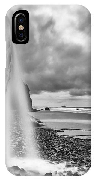 Falling Into The Sea IPhone Case
