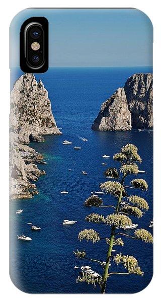 Faraglioni In Capri IPhone Case