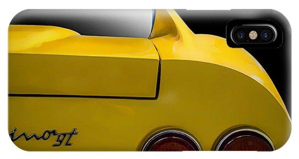 Mancave iPhone Case - Ferrari Dino by Douglas Pittman