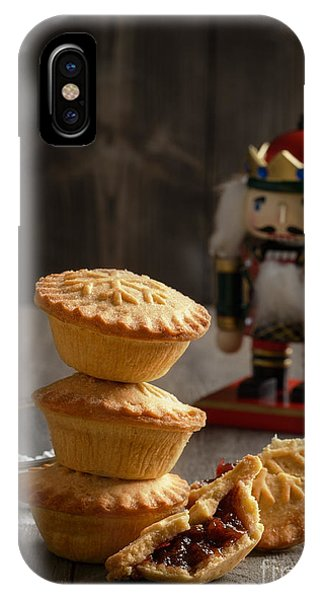 Icing iPhone Case - Festive Mince Pies by Amanda Elwell