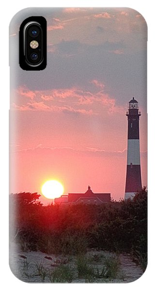 Fire Island Sunset IPhone Case