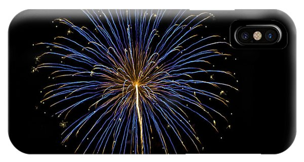 Fireworks Bursts Colors And Shapes IPhone Case