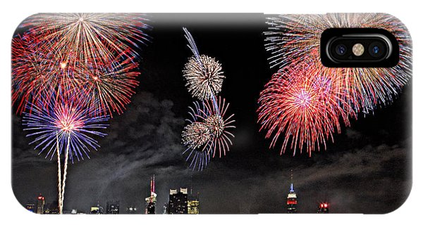 Fireworks Over New York City IPhone Case
