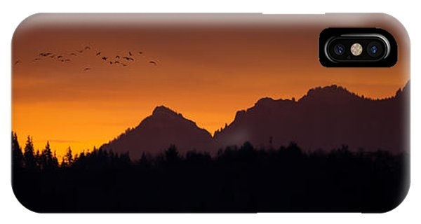 Flight To Saddle Mountain IPhone Case