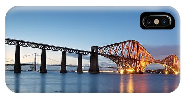 Forth Rail Bridge IPhone Case