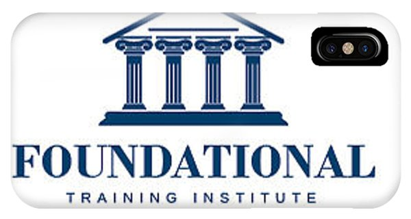 Foundational Training Institute IPhone Case