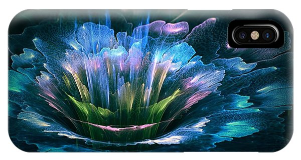 Fractal Flower IPhone Case