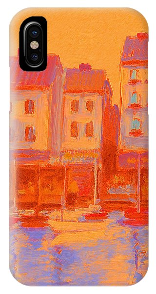 French Harbor IPhone Case