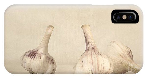 Life iPhone Case - Fresh Garlic by Priska Wettstein